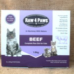 Raw 4 Paws Beef – Aussie Paws Nutrition, Raw Cat Food, Single Protein, BARF