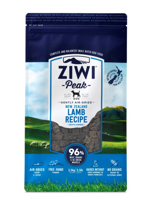 Ziwi Peak Dog Food Lamb Air Dried Raw Front