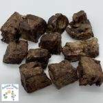 Pork Crisp Cubes - Aussie Paws Nutrition - Dried Dog Treats, All Natural, Preservative Free Pet Treats, Pork Lung