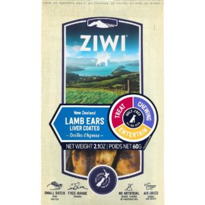 Ziwi Peak Liver Coated Lamb Ears - Front On