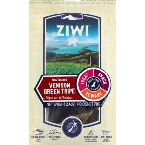 Ziwi Peak Treats Dog Venison Green Tripe