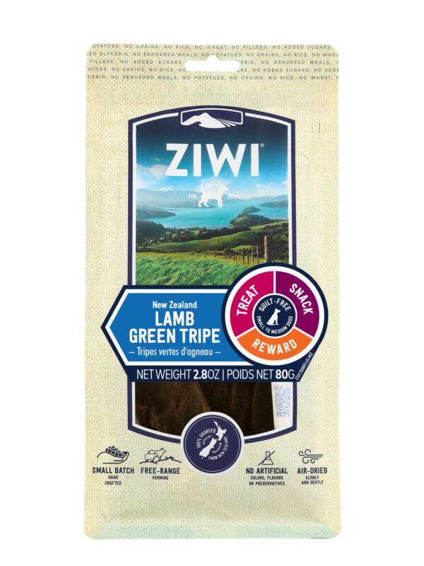 Ziwi Peak Treats Dog Lamb Green Tripe Front